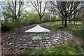 SP8424 : Cublington Spinney memorial by Philip Jeffrey