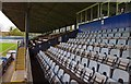 SO8456 : W.C.F.C. ground (14) -  seating in the Main Stand, St. George's Lane North, Worcester by P L Chadwick