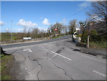 H9618 : Carrive Road at its junction with the Newry Road at Silverbridge by Eric Jones