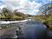 SE0063 : Linton: Lower and Upper Weirs from the Tin Bridge by Dr Neil Clifton