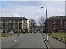 NS5564 : Tenements, Brighton Place by Richard Webb