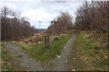 NN1073 : Footpath by Cow Hill to Glen Nevis by Alan Reid