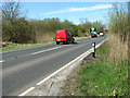 TG4010 : To Acle on the A47 road by Evelyn Simak