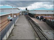SJ3350 : Wrexham Central railway station by Nigel Thompson