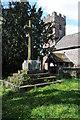 SO4111 : Preaching cross, Penrhos by Philip Halling