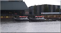 TQ2977 : Western Riverside Waste Authority, Cringle Dock SW8 by Robin Sones
