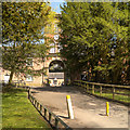 SD5908 : Haigh Country Park, Entrance to Stables Courtyard by David Dixon