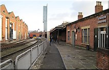 SJ8297 : Manchester Liverpool Road railway station (site) by Nigel Thompson