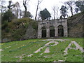 SX5155 : Decorative arches in the Saltram house area by Rob Purvis