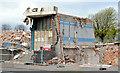 J3476 : The remains of the Grove Baths, Belfast (2013-2) by Albert Bridge