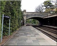 SO7845 : Avenue Road bridge, Great Malvern by Jaggery