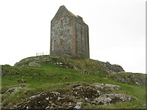 NT6334 : Smailholm Tower from the northeast by M J Richardson