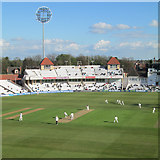 SK5838 : Evening sunshine at Trent Bridge Cricket Ground by John Sutton