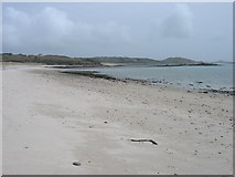 SV9115 : The beach at Lower Town, St Martin's by David Purchase