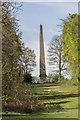 TQ2897 : Obelisk, Trent Park, Cockfosters by Christine Matthews
