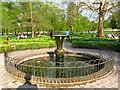TQ3877 : Fountain in Greenwich Park herb garden by Stephen Craven