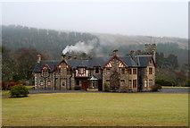 NH5292 : Gruinards Lodge by Donald H Bain
