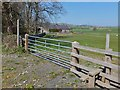 NU0711 : Footpath and stile, Whittingham by Barbara Carr