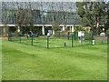 NT2475 : Weather Station at the Royal Botanic Garden Edinburgh by M J Richardson