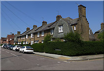 TQ3390 : Terraced houses, Tower Gardens Estate by Julian Osley