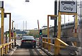 TQ5675 : Dartford Tunnel Toll by Julian P Guffogg