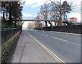 ST1597 : Footbridge, Lewis School Pengam by Jaggery
