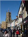 SP0202 : Market Place, Cirencester by Peter Barr