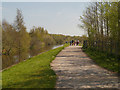 SD5804 : Leeds and Liverpool Canal, Leigh Branch by David Dixon