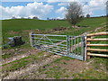 SJ2533 : Multi-gate on Offa's Dyke Path by John Haynes
