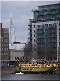 TQ3078 : Boat on Albert Embankment SE1 by Robin Sones