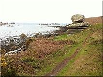 SV9210 : Rocks in Porth Hellick by Andrew Abbott