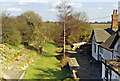 SK8519 : Edmondthorpe & Wymondham: former station, 1994 by Ben Brooksbank