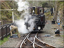 SH6441 : Ffestiniog Railway at Tan-y-Bwlch by Gareth James