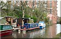 SJ9398 : Tinkerbelle on the Ashton Canal by Gerald England
