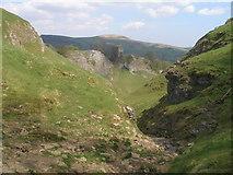 SK1482 : Cave Dale towards Peveril Castle by John Slater