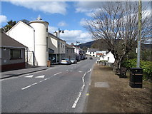 J0115 : North end of Main Street, Forkhill by Eric Jones