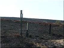 SE0120 : Stile onto Soyland Moor by Humphrey Bolton