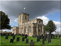 SK4023 : Breedon-on-the-Hill: priory church of St. Mary & St. Hardulph by Chris Downer