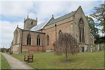 SK5276 : St Lawrence's church, Whitwell from the south east by J.Hannan-Briggs