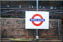 TQ2081 : North Acton Station by N Chadwick
