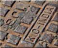 J4873 : KIC Metaliks manhole cover, Newtownards (2) by Albert Bridge