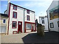 NY0028 : Colourful building, Workington by Kenneth  Allen