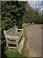 TQ3770 : Seats by Green Chain Walk, Beckenham Place by Derek Harper