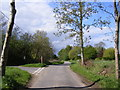 TM3887 : Took Common Road & Took Common Postbox by Adrian Cable
