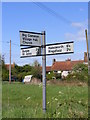 TM3887 : Roadsign on Tooks Common Road by Adrian Cable