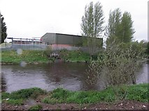 H4473 : Sewage Treatment Works, Omagh by Kenneth  Allen