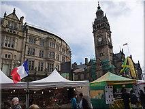 SK3587 : Sheffield: global market in Fargate by Chris Downer