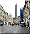 NZ2464 : The Earl Grey Monument,  Newcastle upon Tyne by Derek Voller