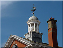 SD4364 : Cupola and wind vane, Cinnabar House, Morecambe by Karl and Ali