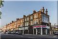 TQ3192 : Shops in Green Lanes, London N13 by Christine Matthews